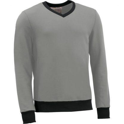 RI0BPD_Pullover VAusschnitt grau fairtrade 1