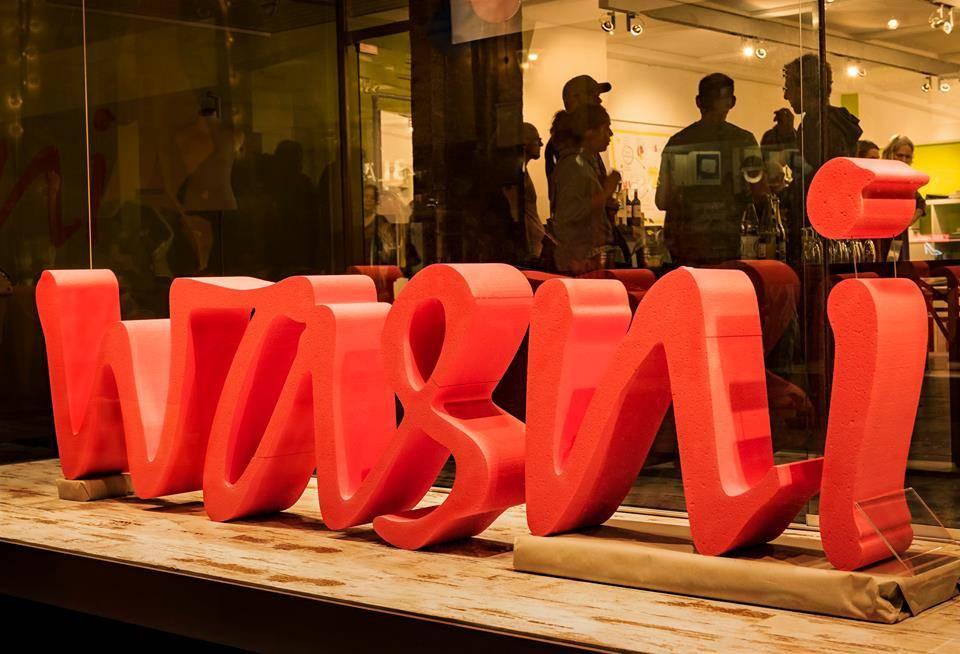 wasni logo in 3D