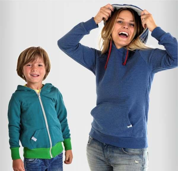 Kapuzenpullis und Hoodies für Kinder, Jugendliche, Männer und Frauen