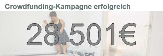 wasni Crowdfunding-Kampagne erfolgreich