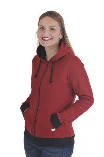 Hoodie mit Zipper made in Germany