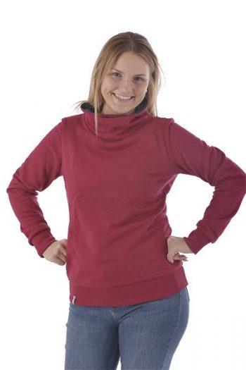 Pullover mit Schalkragen made in Germany