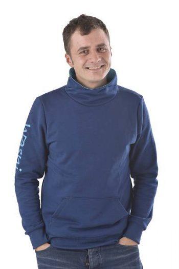 Pullover ohne Kapuze GOTS zertifiziert