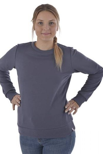 Sweater mit Rundhals Bio Baumwolle fair trade