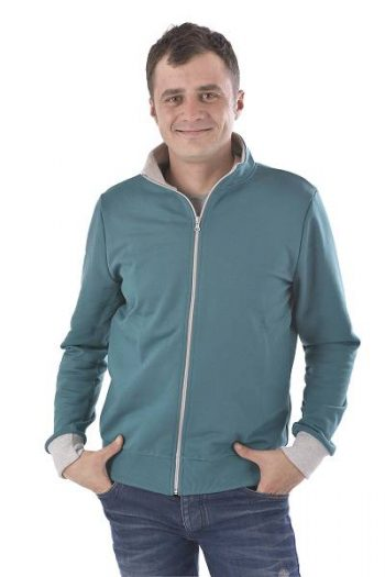 Sweatjacke made in Germany