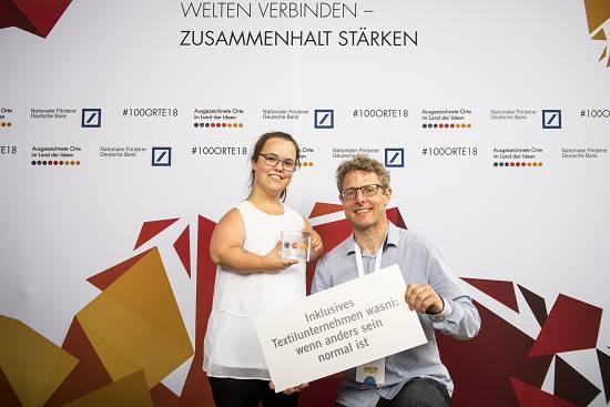 wasni-Nadine&Daniel Preisverleihung 2018 Deutschland – Land der Ideen