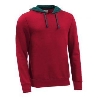 Hoodie_fairtrade_rot_HUCNYJ_front