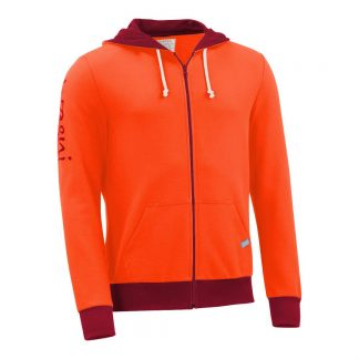 Kapuzenjacke_fairtrade_orange_28BLM4_front