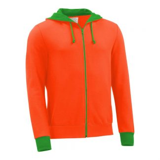 Kapuzenjacke_fairtrade_orange_4X9CG2_front