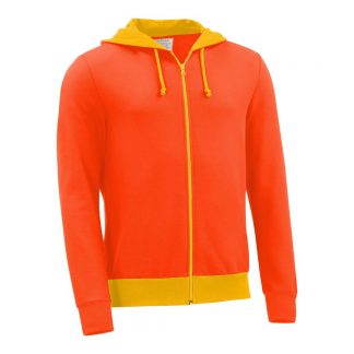 Kapuzenjacke_fairtrade_orange_MHR63Z_front