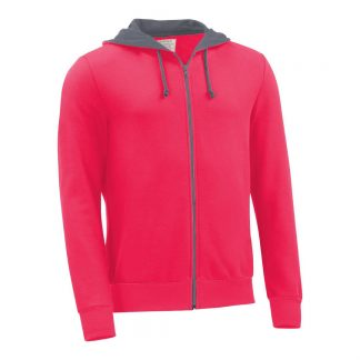 Kapuzenjacke_fairtrade_pink_1B18NJ_front