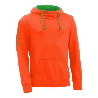 Kapuzenpullover mit Schalkragen_fairtrade_orange_O1UBWN_front