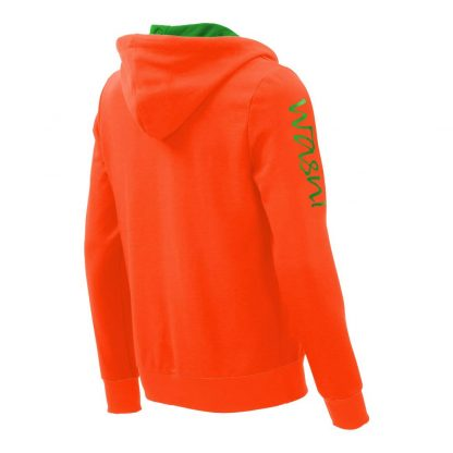 Kapuzenpullover mit Schalkragen_fairtrade_orange_O1UBWN_rueck
