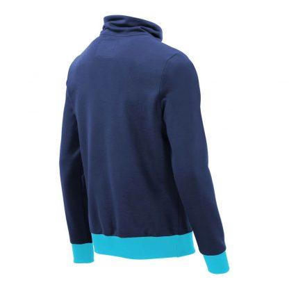 Pullover mit Schalkragen_fairtrade_blau_GM2WIR_rueck