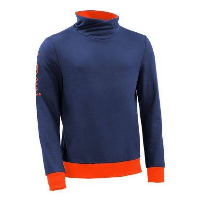 Pullover mit Schalkragen_fairtrade_blau_U68648_front