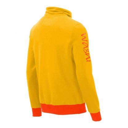 Pullover mit Schalkragen_fairtrade_gelb_2EVAFK_rueck