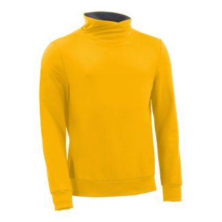 Pullover mit Schalkragen_fairtrade_gelb_6TQCZH_front