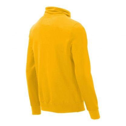 Pullover mit Schalkragen_fairtrade_gelb_6TQCZH_rueck
