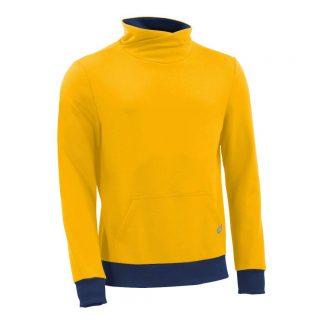 Pullover mit Schalkragen_fairtrade_gelb_XEQ599_front
