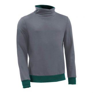 Pullover mit Schalkragen_fairtrade_grau_0MXV1L_front