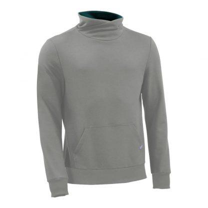 Pullover mit Schalkragen_fairtrade_grau_4TKBT4_front