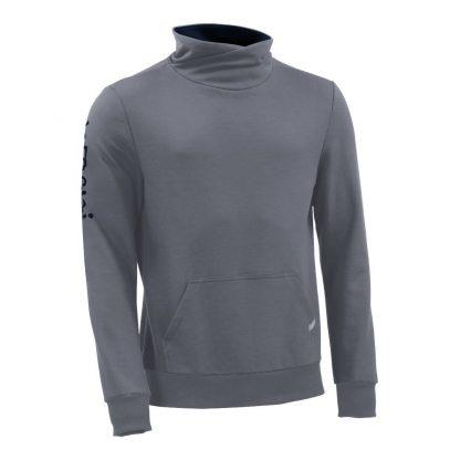 Pullover mit Schalkragen_fairtrade_grau_WDMTAZ_front