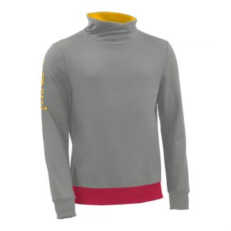 Pullover mit Schalkragen_fairtrade_grau_WICPTR_front
