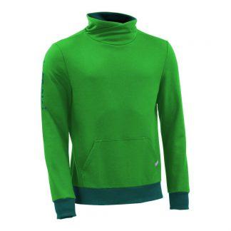 Pullover mit Schalkragen_fairtrade_gruen_P2PT2U_front