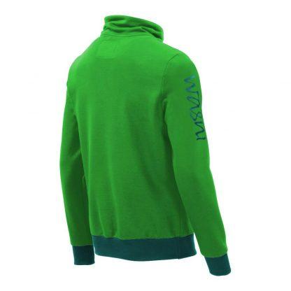 Pullover mit Schalkragen_fairtrade_gruen_P2PT2U_rueck