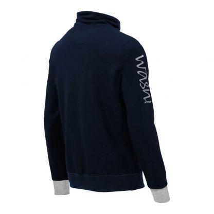 Pullover mit Schalkragen_fairtrade_marineblau_6A5DED_rueck