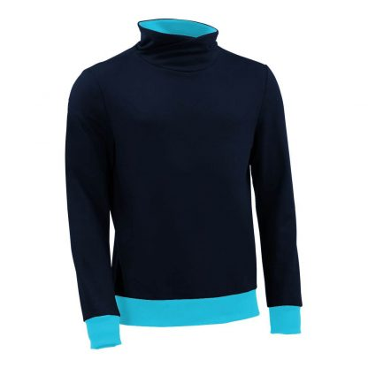 Pullover mit Schalkragen_fairtrade_marineblau_LNR25E_front