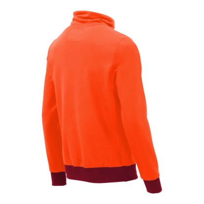 Pullover mit Schalkragen_fairtrade_orange_RRC7C3_rueck