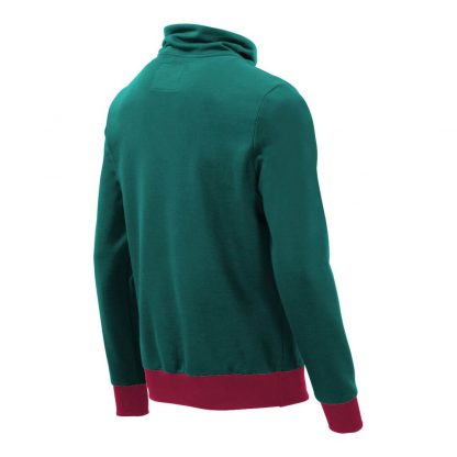 Pullover mit Schalkragen_fairtrade_petrol_HT569L_rueck