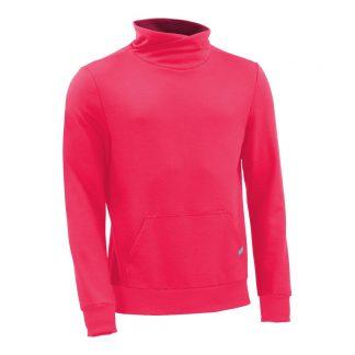 Pullover mit Schalkragen_fairtrade_pink_AXW7C8_front