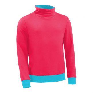 Pullover mit Schalkragen_fairtrade_pink_PS0TSP_front