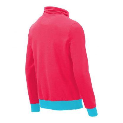 Pullover mit Schalkragen_fairtrade_pink_PS0TSP_rueck