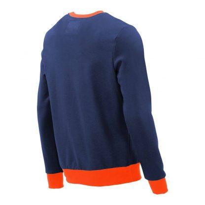 Pullover mit V-Ausschnitt_fairtrade_blau_314EKH_rueck