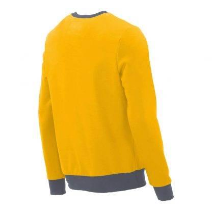 Pullover mit V-Ausschnitt_fairtrade_gelb_J50N5Z_rueck