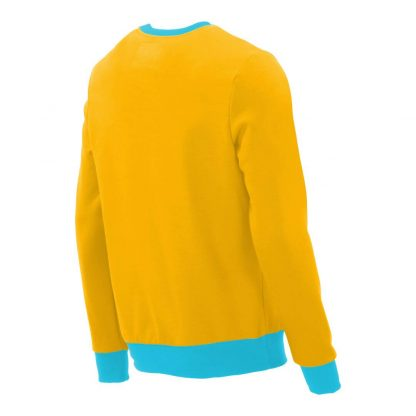 Pullover mit V-Ausschnitt_fairtrade_gelb_NFGLVD_rueck