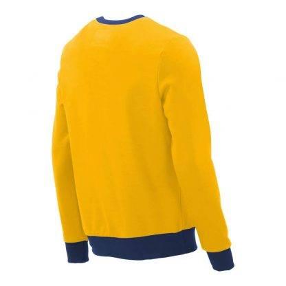Pullover mit V-Ausschnitt_fairtrade_gelb_S3BA3V_rueck
