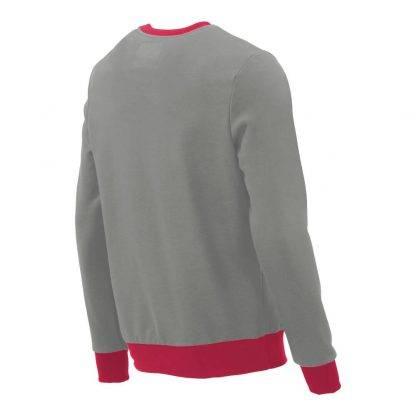 Pullover mit V-Ausschnitt_fairtrade_grau_4I2ASJ_rueck