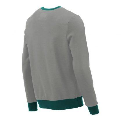 Pullover mit V-Ausschnitt_fairtrade_grau_9NNM8X_rueck