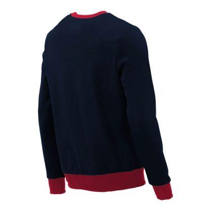 Pullover mit V-Ausschnitt_fairtrade_marineblau_CUC2CN_rueck
