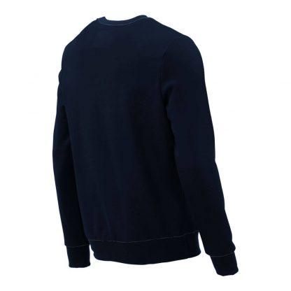Pullover mit V-Ausschnitt_fairtrade_marineblau_DSE56I_rueck