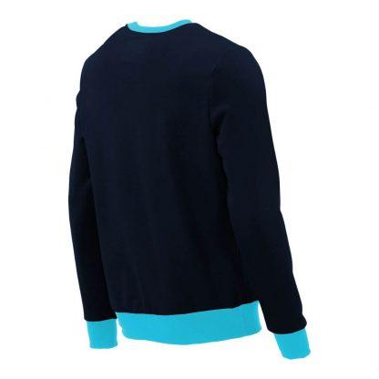 Pullover mit V-Ausschnitt_fairtrade_marineblau_TDKHA2_rueck