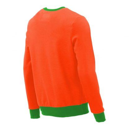 Pullover mit V-Ausschnitt_fairtrade_orange_B4LX41_rueck