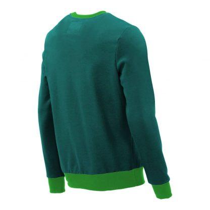 Pullover mit V-Ausschnitt_fairtrade_petrol_CZJLE6_rueck_front
