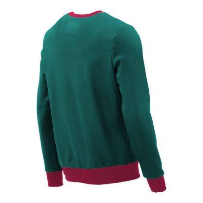 Pullover mit V-Ausschnitt_fairtrade_petrol_DVHP3O_rueck