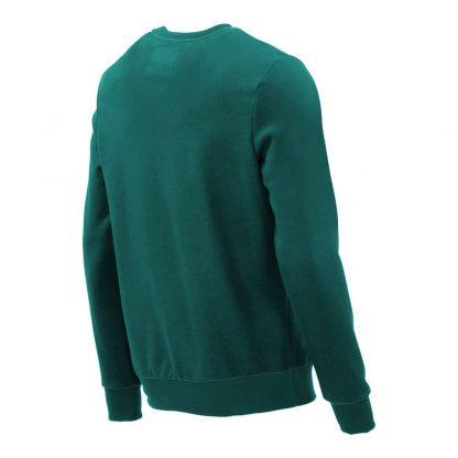Pullover mit V-Ausschnitt_fairtrade_petrol_SS63MI_rueck