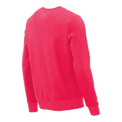 Pullover mit V-Ausschnitt_fairtrade_pink_HENSDD_rueck